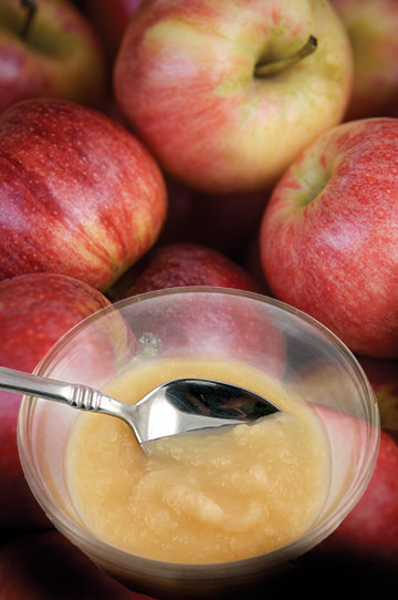 photo of finished Cool, Creamy Applesauce recipe