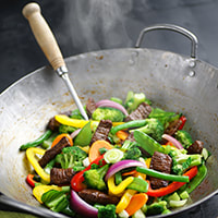 photo of finished Stir-Fried Beef & Vegetables recipe