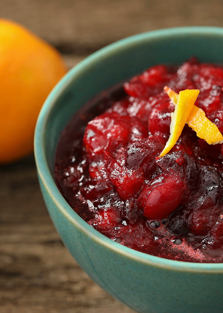 photo of completed Cranberry Orange Sauce recipe