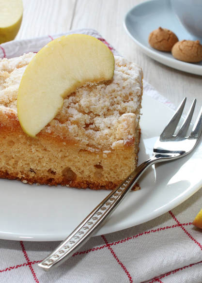 photo of finished Apple Coffee Cake recipe