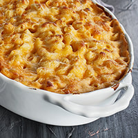 photo of completed Macaroni & Cheese recipe