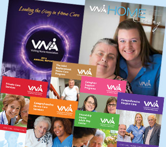 VNA Newsletter, Annual Report & helpful Brochures available in PDF format.