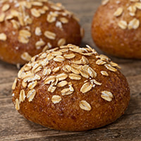 photo of baked Whole-Wheat Irish Soda Bread Rolls