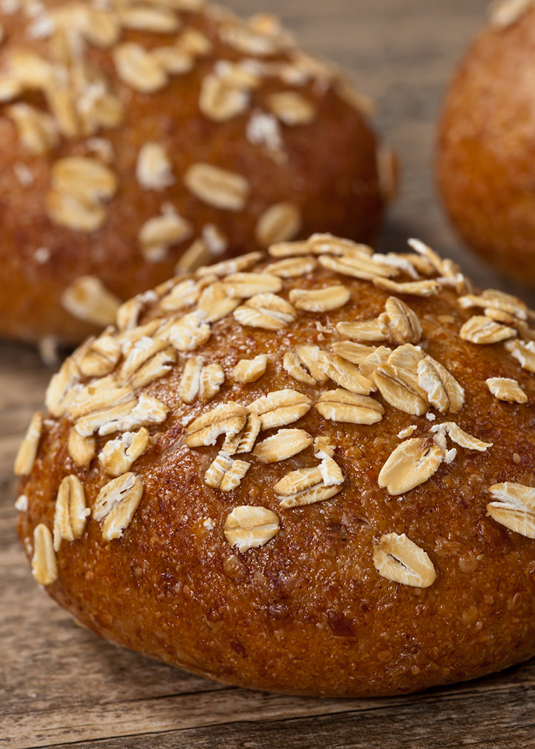 photo of finished Whole-Wheat Irish Soda Bread Rolls recipe
