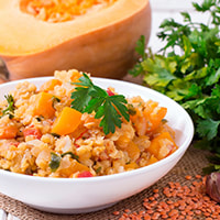 photo of Winter Vegetable Dal or Red Lentils